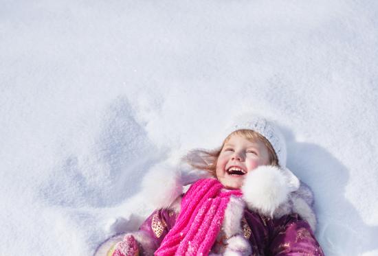 Κορίτσι στο χιόνι