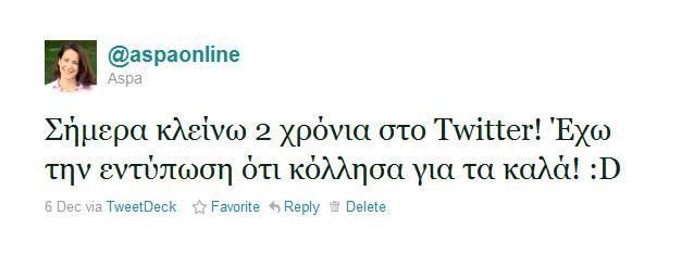 2 years Twitter