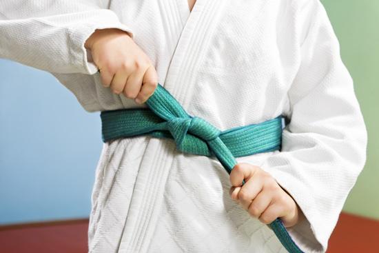 """judo green belt"""