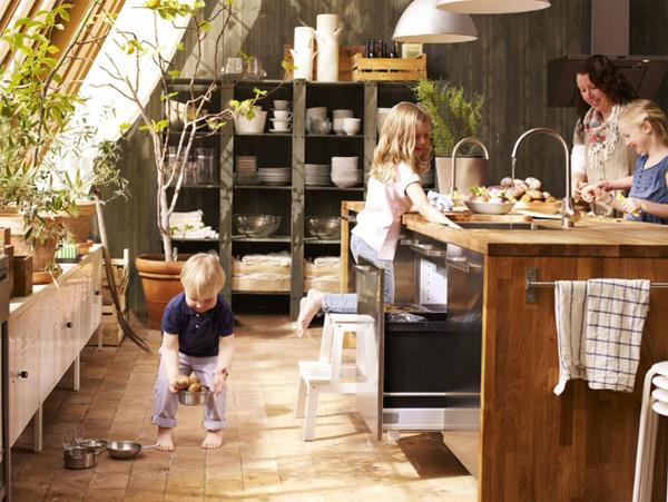 Ιδέες για μια κουζίνα φιλική προς τα