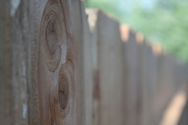 Από την άλλη πλευρά του φράχτη
