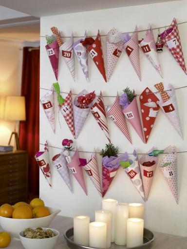 Xωνάκια γεμάτα εκπλήξεις - Χριστουγεννιάτικο ημερολόγιο: 3 + 1 ιδέες για να φτιάξετε το δικό σας