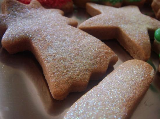 Μπισκότα με χρυσόσκονη
