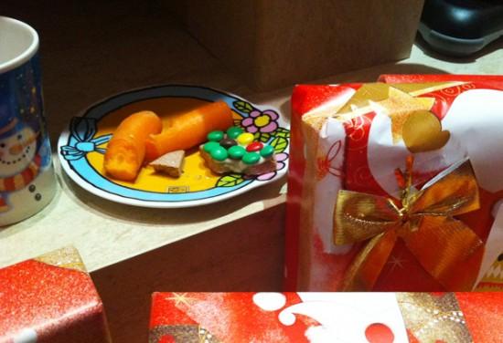 Μισοφαγωμένα μπισκότα και καρότα
