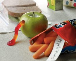Σκουληκιασμένο μήλο