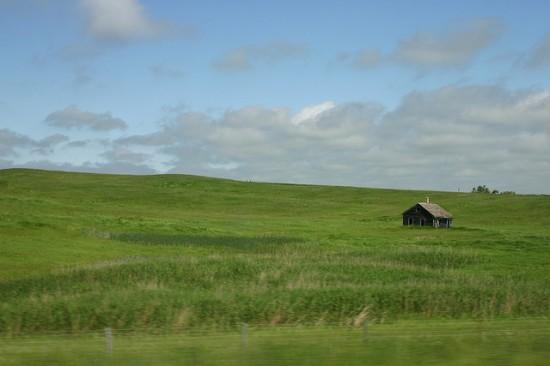 Ένα μικρό σπίτι στο λιβάδι
