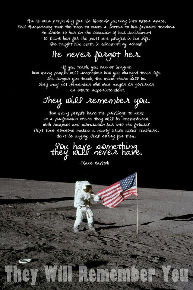 Το γράμμα του Neil Armstrong στη δασκάλα του