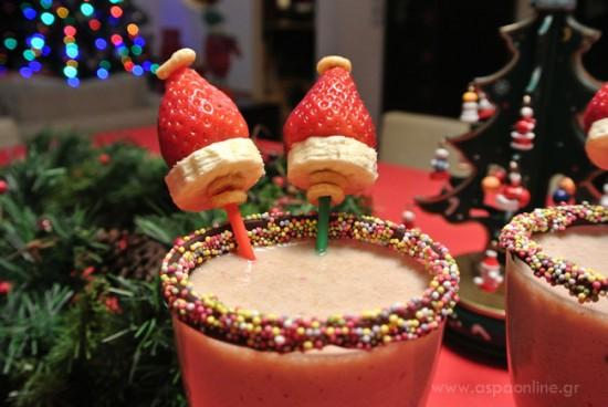 Smoothie γιορτινή απόλαυση