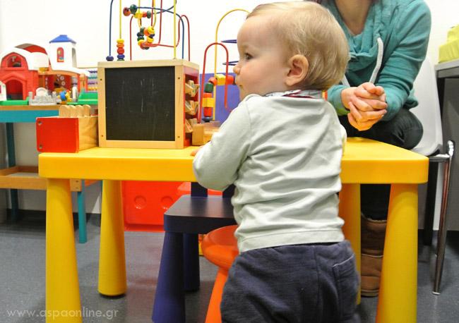 Μωρό που παίζει