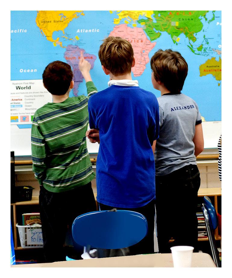 Παιδιά στην τάξη