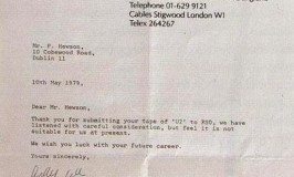 u2-rejection-letter