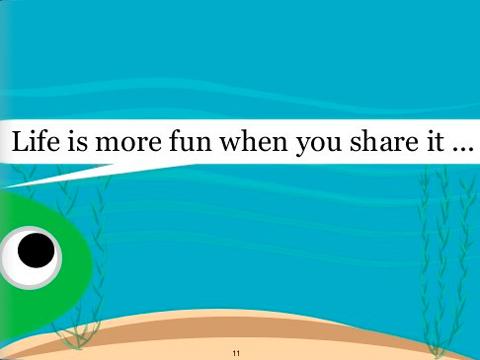 Η ζωή είναι πιο διασκεδαστική όταν τη μοιράζεσαι...