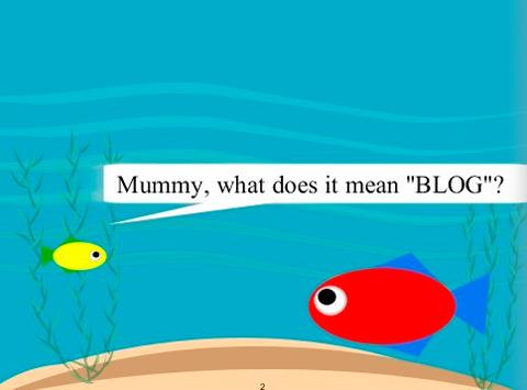 """Μαμά τη σημαίνει """"blog"""";"""
