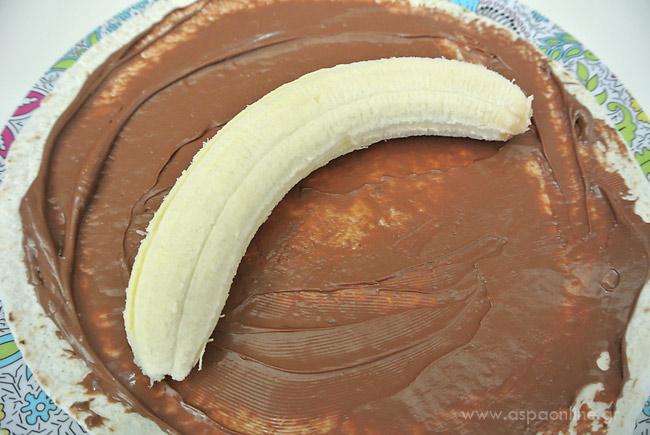 tortilla-chocolate-banana