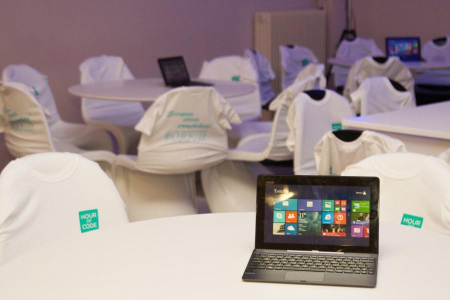 Εκδήλωση της Microsoft για την Ώρα του Κώδικα