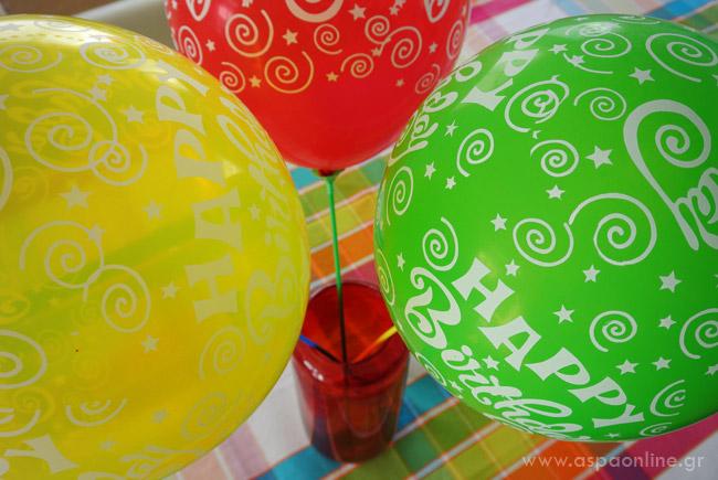 Μπαλόνια στο βάζο
