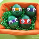 Πασχαλινά αυγά χελωνονιντζάκια