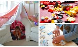 8 δραστηριότητες για ένα διασκεδαστικό Σαββατοκύριακο στο σπίτι με τα παιδιά