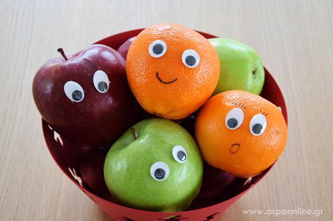 Πρωταπριλιάτικες φάρσες: Φρούτα με μάτια