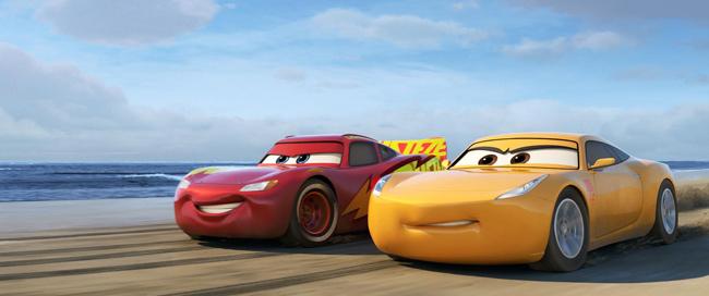 Cars 3: Κερδίστε προσκλήσεις!