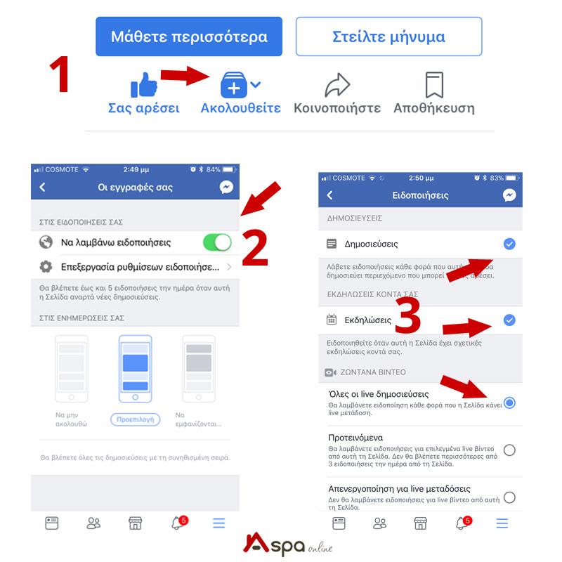 Να πώς να μη χαθούμε στο Facebook