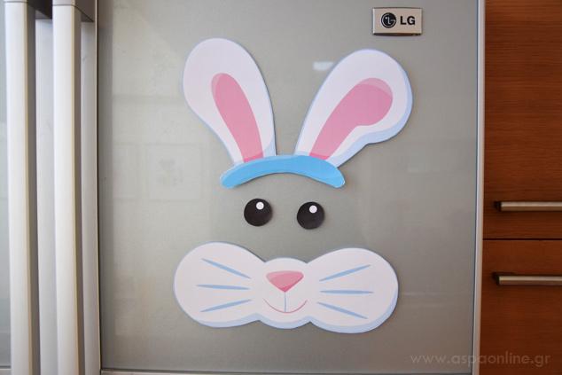 Πασχαλινή διακόσμηση για το ψυγείο που θα ξετρελάνει τα παιδιά