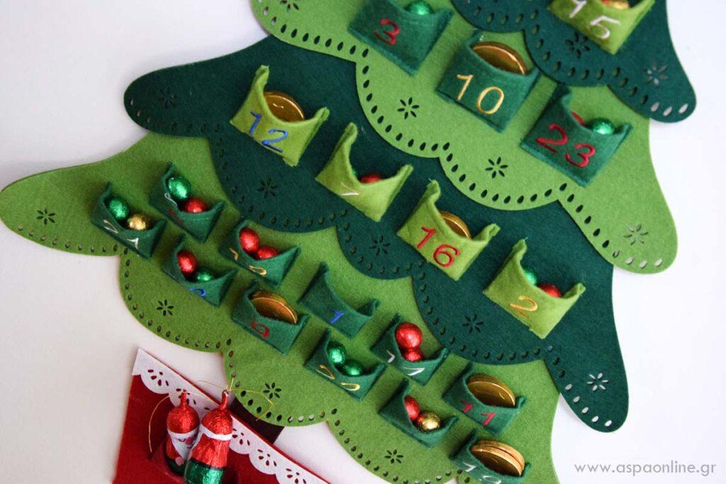 Με τι να γεμίσετε το ημερολόγιο αντίστροφης μέτρησης των Χριστουγέννων